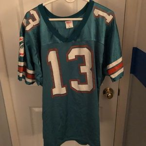 #13 Dan Marino Vintage Dolphins Jersey MENS L- NFL